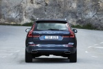 2018 Volvo XC60 T6 AWD in Denim Blue Metallic - Static Rear View