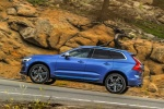 2018 Volvo XC60 T6 AWD in Bursting Blue Metallic - Driving Left Side View