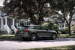 2018 Volvo XC60 T6 AWD in Pine Gray Metallic - Static Rear Right View