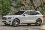 2018 Volvo XC60 T8 eAWD in Crystal White Metallic - Static Front Left Three-quarter View