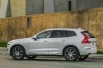 2018 Volvo XC60 T8 eAWD in Crystal White Metallic - Static Rear Left Three-quarter View