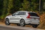 2018 Volvo XC60 T8 eAWD in Crystal White Metallic - Static Rear Left View