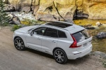 2018 Volvo XC60 T8 eAWD in Crystal White Metallic - Static Rear Left Top View