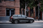 2018 Volvo XC60 T6 AWD in Pine Gray Metallic - Static Rear Right Three-quarter View