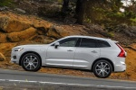 2018 Volvo XC60 T8 eAWD in Crystal White Metallic - Driving Side View