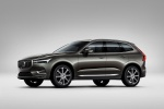 2019 Volvo XC60 T6 AWD in Pine Gray Metallic - Static Front Left Three-quarter View