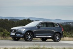 2019 Volvo XC60 T6 AWD in Denim Blue Metallic - Driving Front Left Three-quarter View