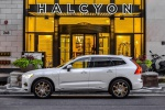 2019 Volvo XC60 T8 eAWD in Crystal White Pearl Metallic - Static Left Side View