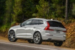 2019 Volvo XC60 T8 eAWD in Crystal White Pearl Metallic - Static Rear Left View